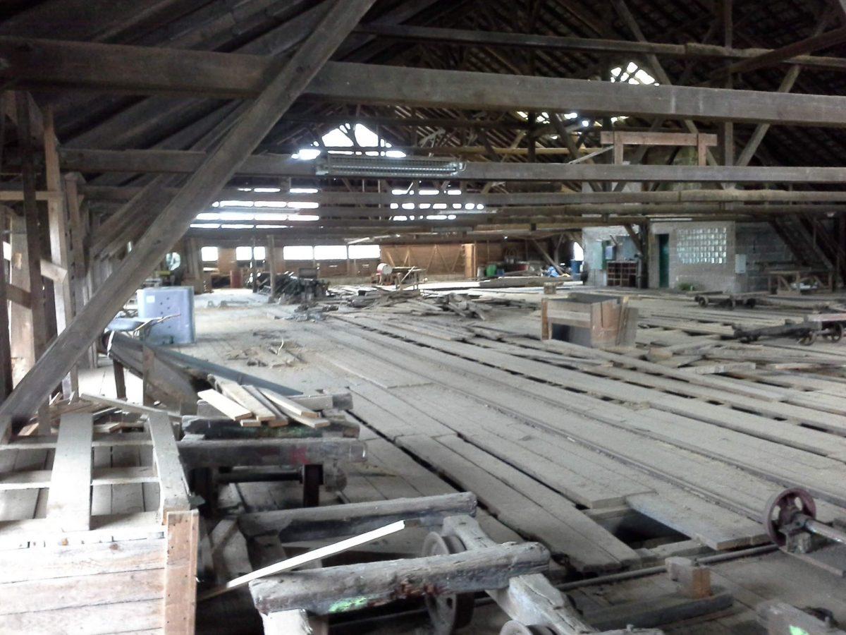 Erhalt des ehemaligen Sägewerk in Deckenbach
